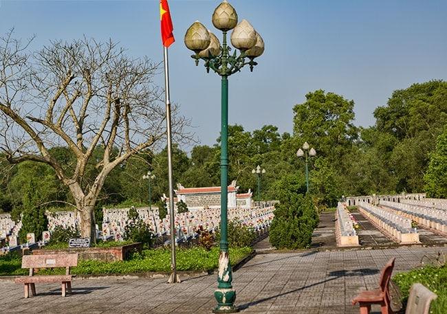 War Cemetery in Triệu Trạch