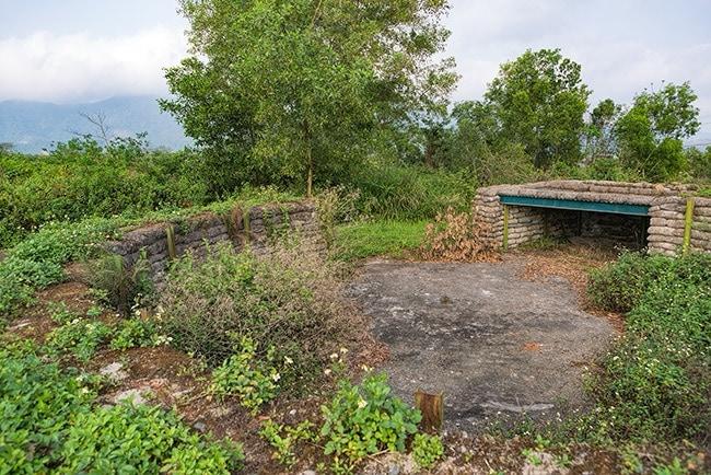 A bunker in Khe Sanh