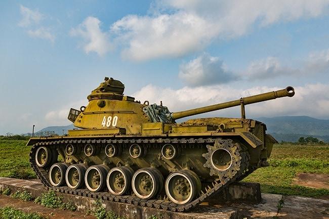 US M48 Patton Tank