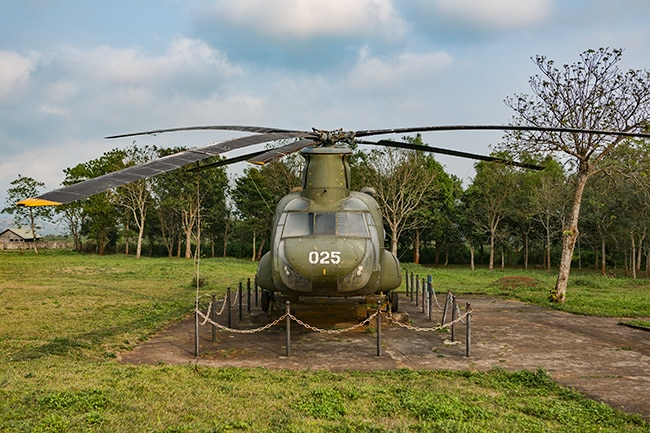 US Army CH-47 Chinook helicopter