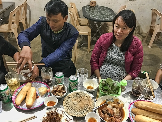 Dinner with friends of Trần