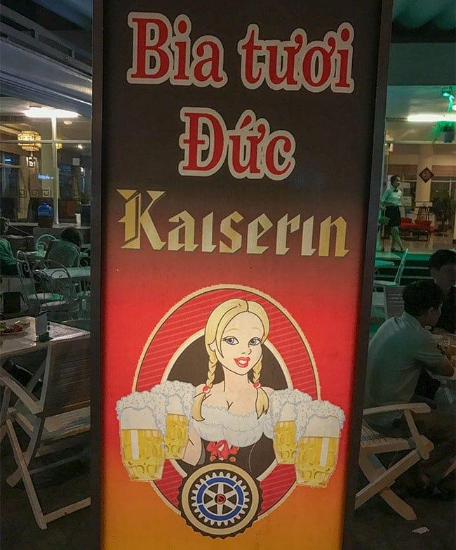 German Beer??