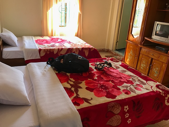 Room in the Mountain View Hotel Phong Nha