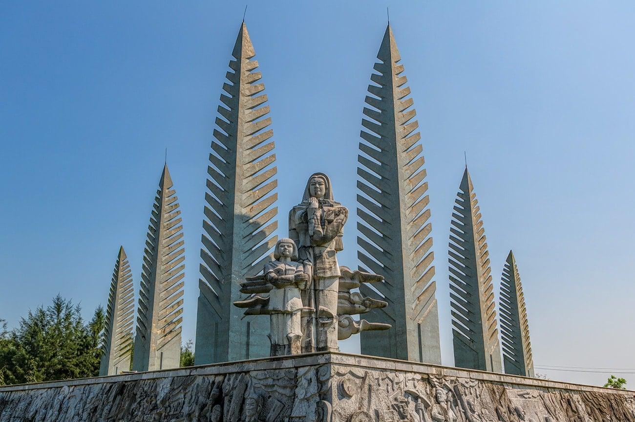 "The ""Unified Memorial of Hope"" and Hiền Lương Bridge"
