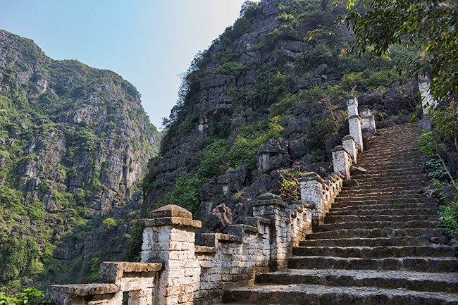 450 steps to the top