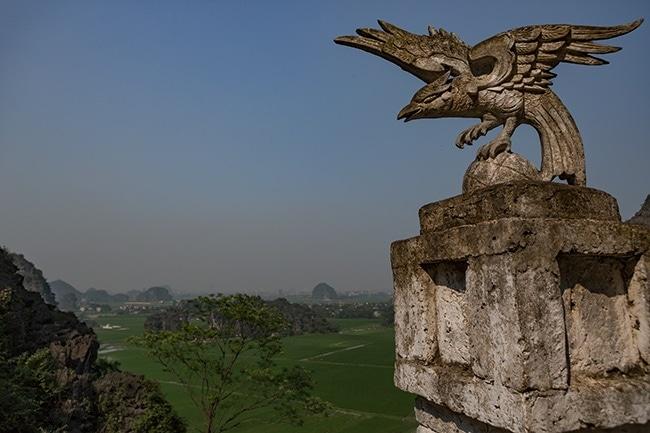 View from the top toward Ninh Binh