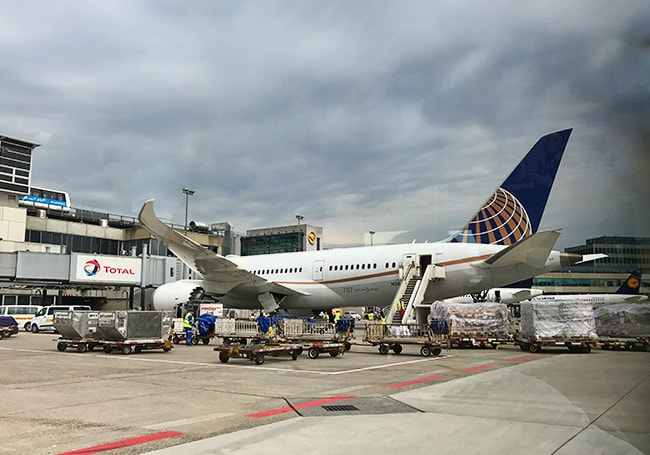 A United plane