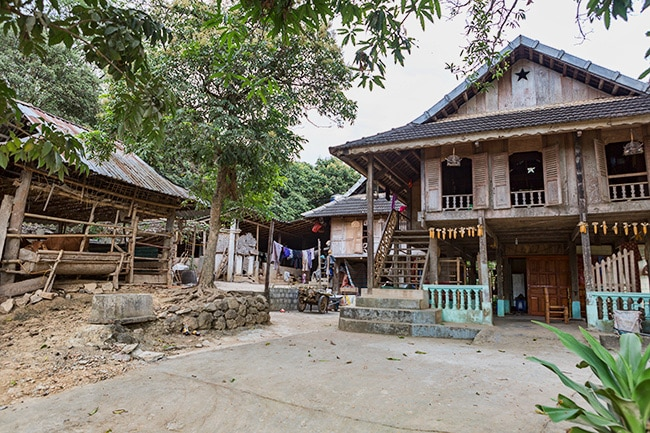 Traditional House in Pom Coong
