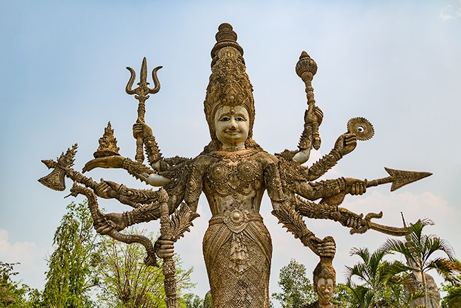 Kali is the Hindu goddess (or Devi) of death, time and doomsday