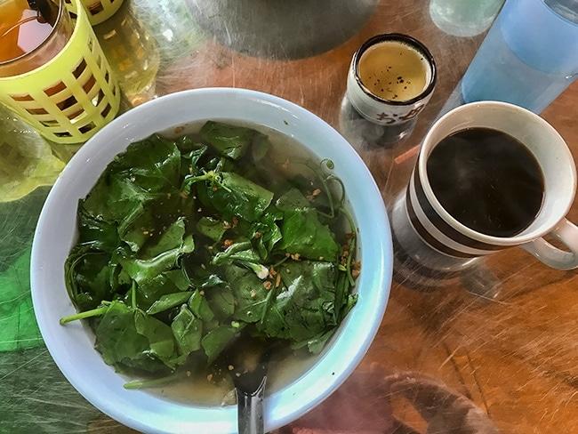 Breakfast in Udon