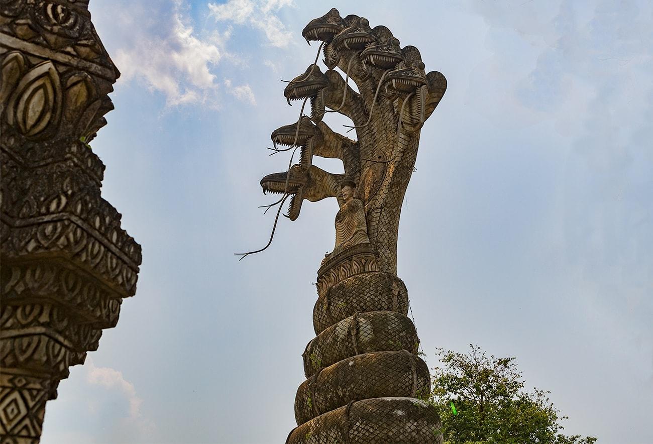 Sala Keoku or Wat Khaek in Nong Khai