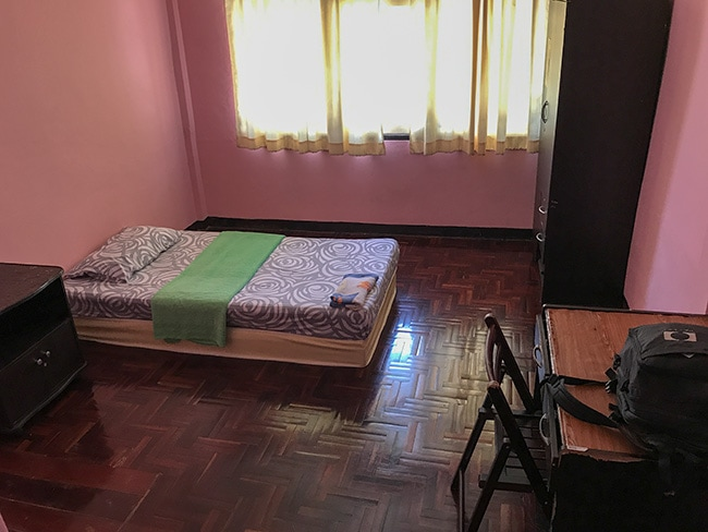My room in Soi Samsen 2