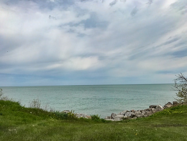 ‎⁨Lake Michigan from Pleasant Prairie⁩, ⁨Wisconsin⁩