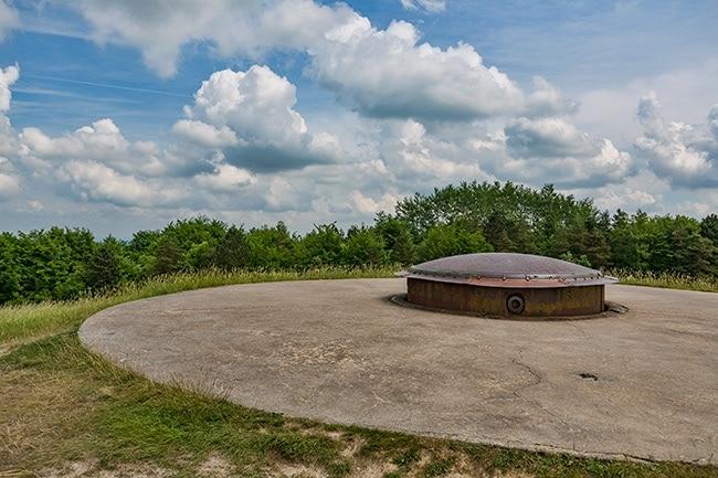 155 mm Gun-Turret in Douaumont