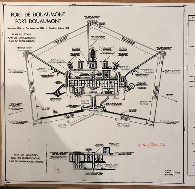 The original plans of 1914