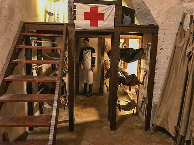 Hospital in Fort Vaux