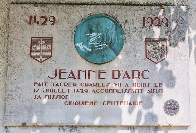500 years Jeanne D'Arc