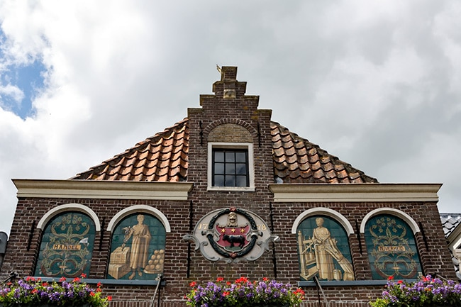At the Cheesemarket in Edam
