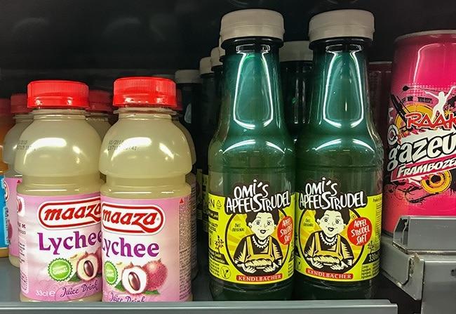 Omi's Apfelstudel - in a bottle? But it is Vegan!