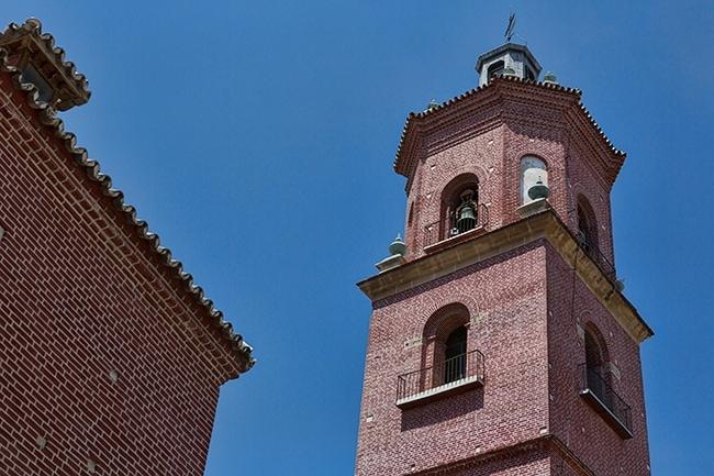 Tower of the Iglesia de Los Santos Mártires