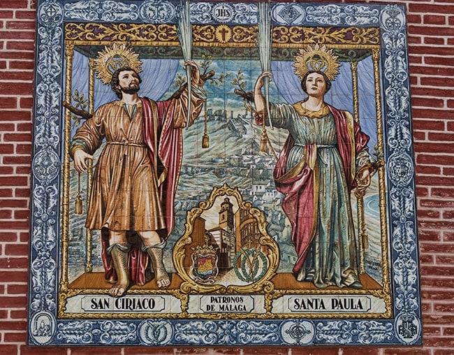 San Ciriaco and Santa Paula