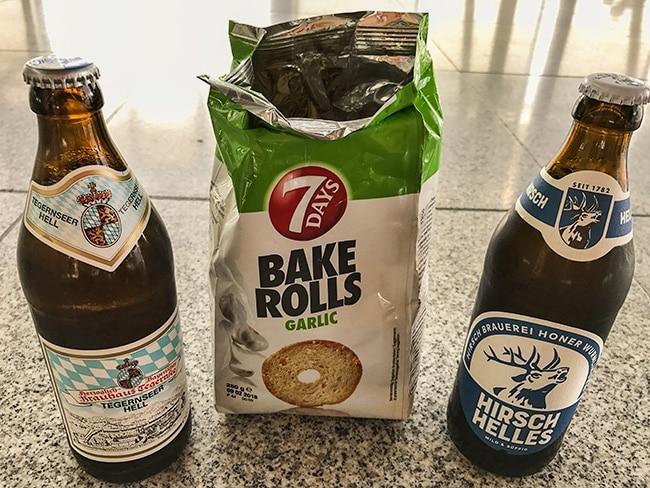 Stuttgart Airport - Last good beer and some junk food