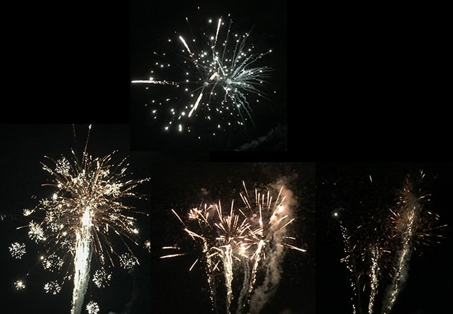 Fireworks at the Swiss National Day