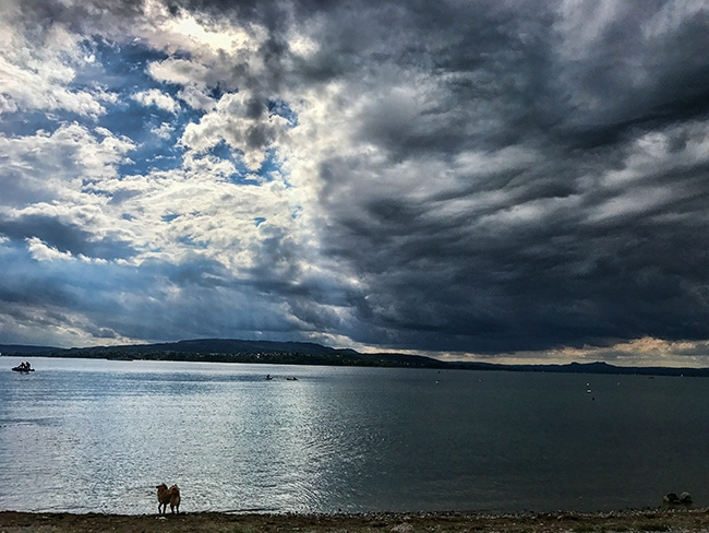 Dark clouds over Reichenau