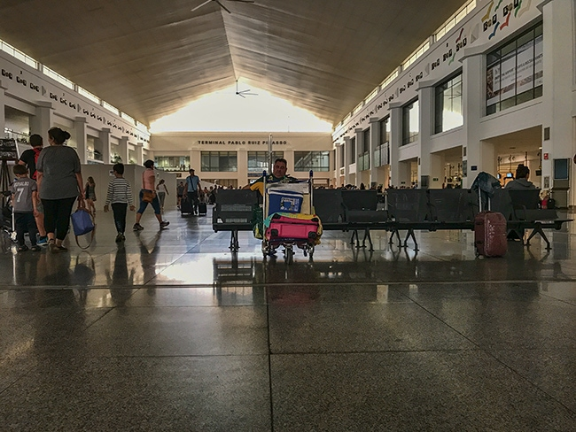 Málaga–Costa del Sol Airport Pablo Ruiz Picasso terminal