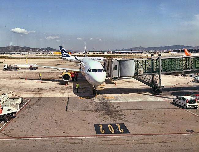 My Vuelig plane to Stuttgart
