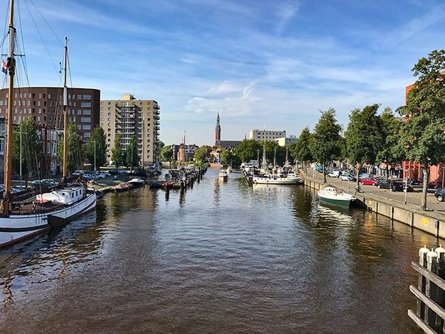 Verbindingskanaal in Groningen