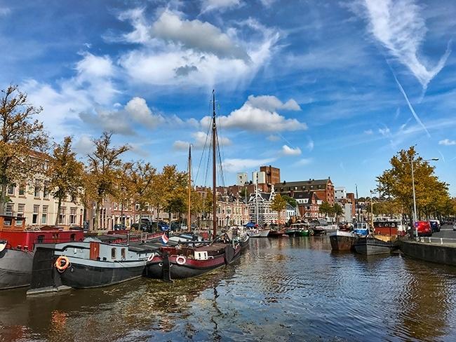 View towards Noorderhaven