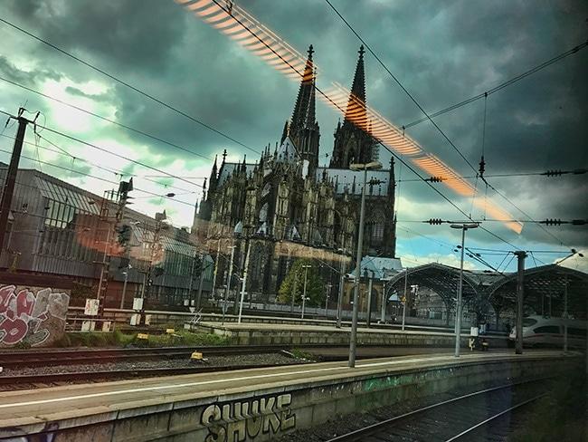 15:12 at Cologne train station