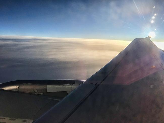 Somewhere over Montenegro