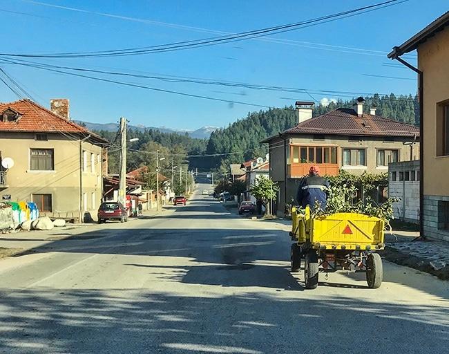 On the road again - in Banya