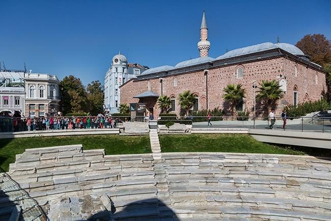 Stadium of Trimontium and Dzhumaya mosque