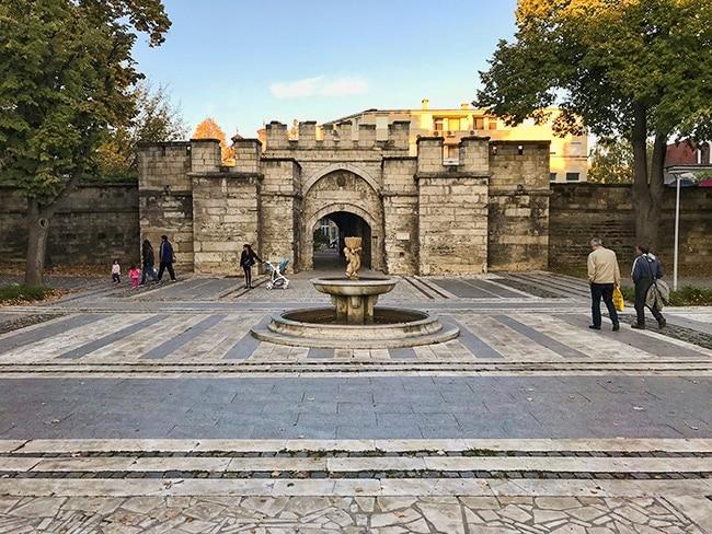The Istanbul Gate or Stambol Kapiya