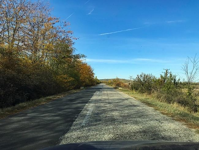On the 65c near Vâlcea