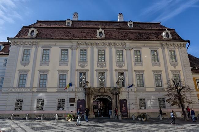 The Bruckenthal museum in Sibiu