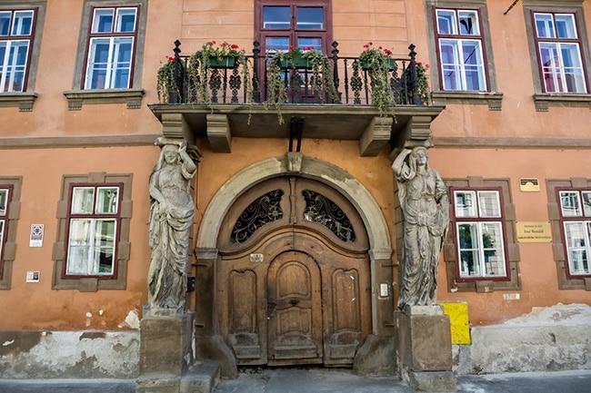 Ernst Wiesenfeld student housing in Sibiu