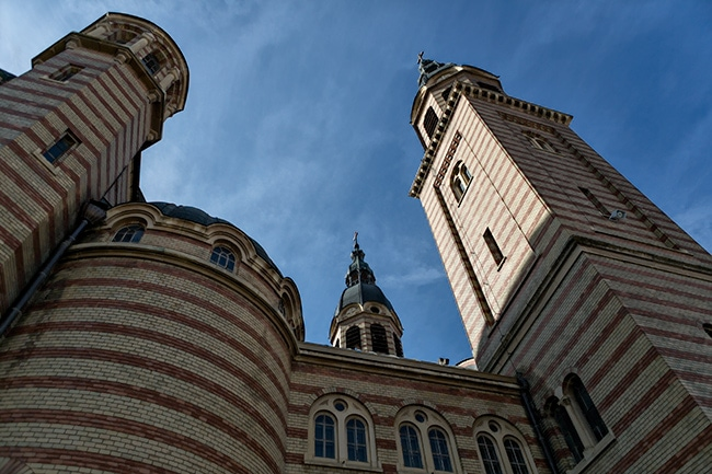 The Holy Trinity Cathedral in Sibiu
