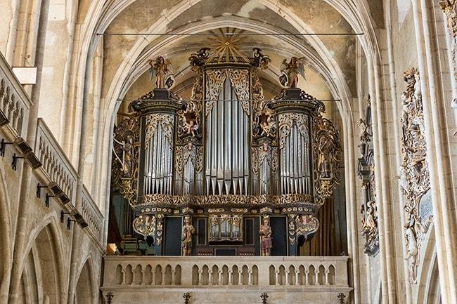 Nice organ - build 1914–1915 from W. Sauer Orgelbau