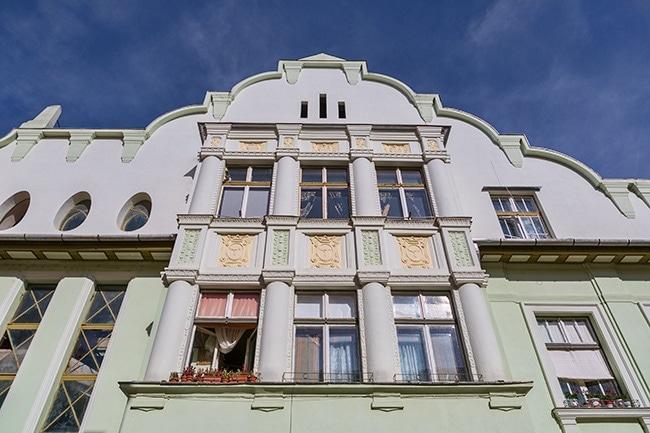 Nice building at the Piaja Mare