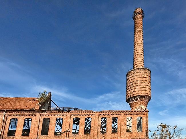 Old factory in Timiş, Romania