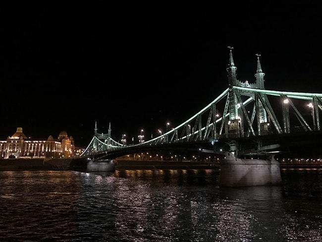 The famous Gallerthegy bridge