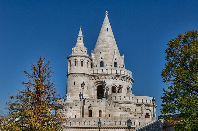 The Fisherman's Bastion or Halászbástya