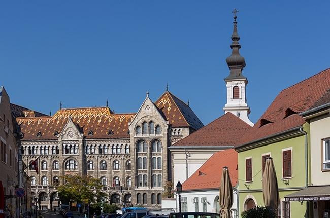 The National Archives of Hungary or Magyar Nemzeti Levéltár Országos Levéltára
