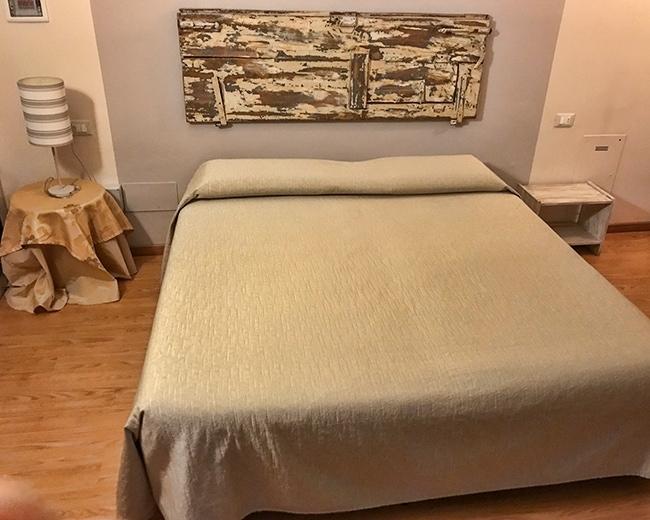Our room at Villa Noce