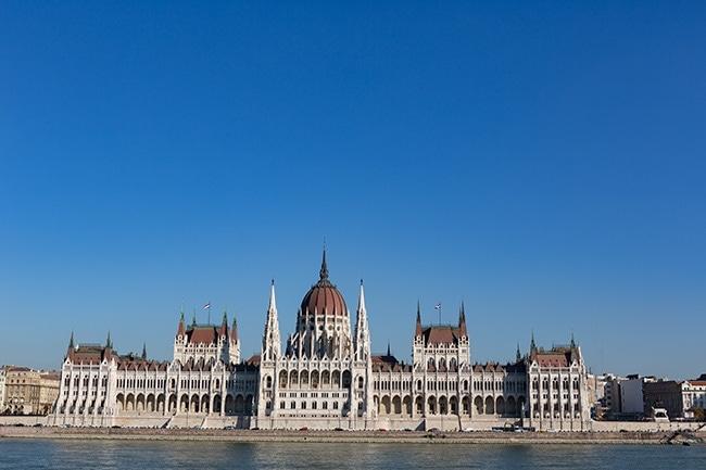 The Hungarian Parliament Building or Országház