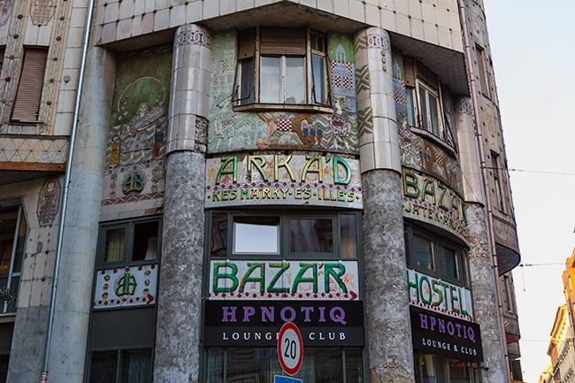 Bazar Building at Dohány u. 22-24